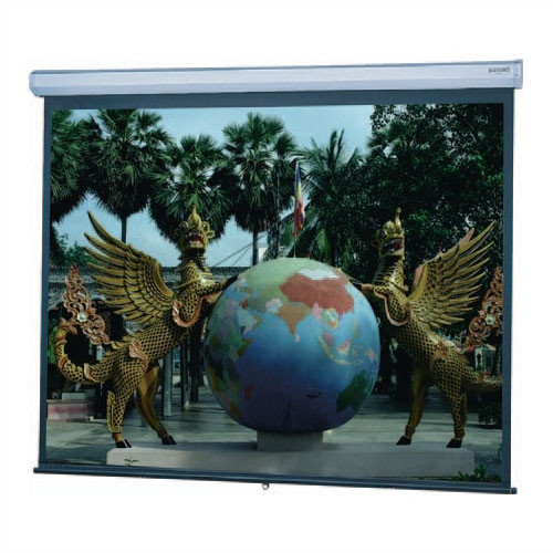 Da-Lite Model C Matte White Manual Projection Screen