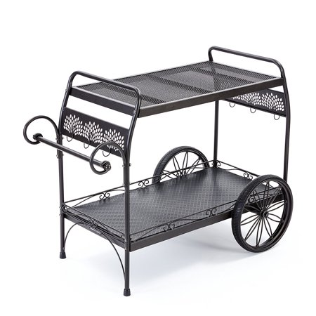 Gorilla Carts Gor 2240Dec Decorative Patio Cart