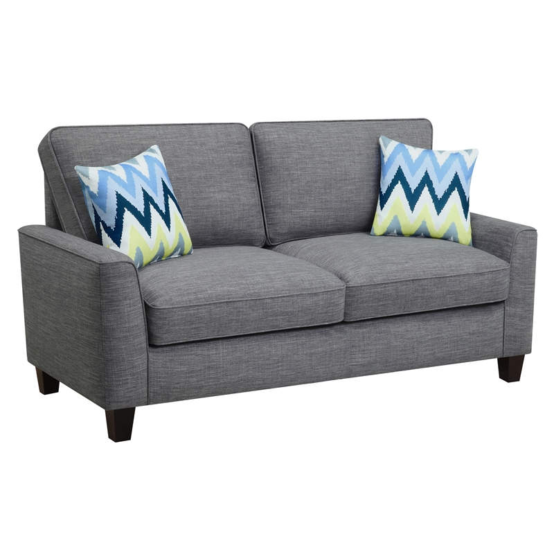 "Alan 73"" Sofa in Light Gray"