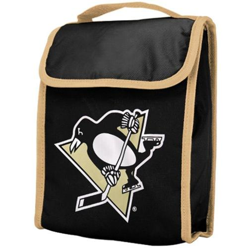 Pittsburgh Penguins Official NHL 9 inch x 7 inch x 5 inch  Insulated Lunch Box Lunchbox Bag by Forever Collectibles