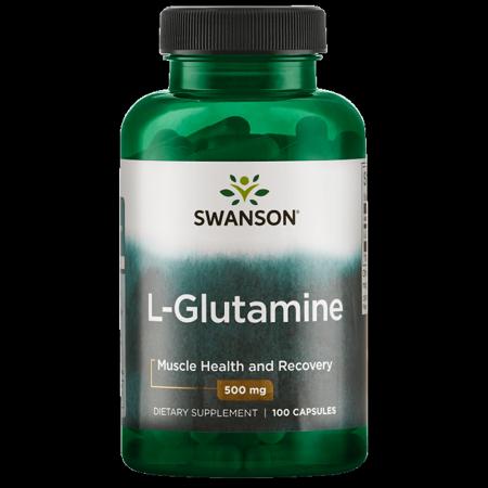 Swanson L-Glutamine 500 mg 100 Caps