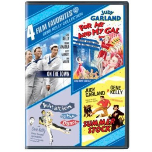 4 Film Favorites: Gene Kelly - On The Town / For Me And My Gal / Invitation To The Dance / Summer Stock