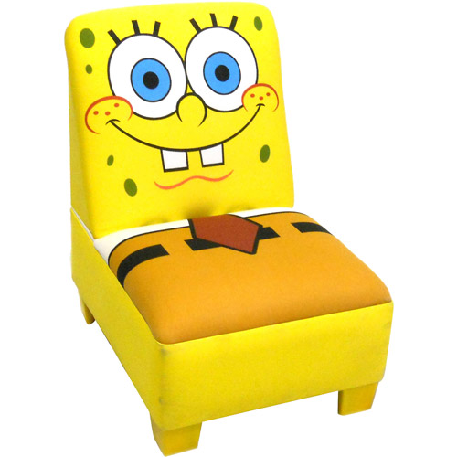 Nickelodeon Sponge Bob Armless Chair