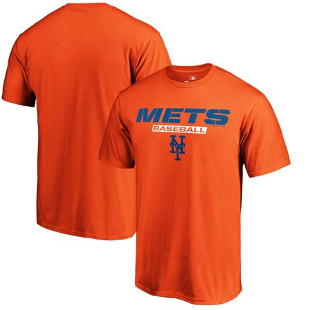 New York Mets Fanatics Branded Just Like That T-Shirt - Orange ()