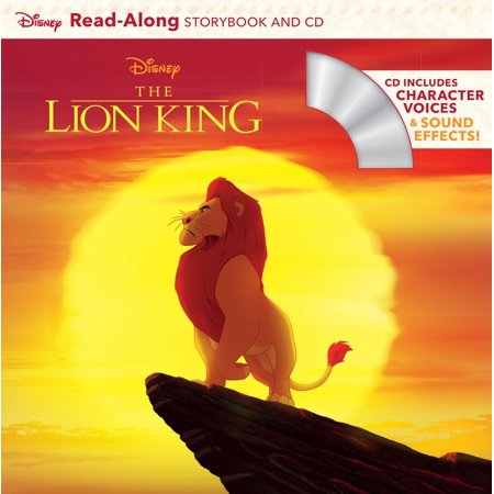 The Lion King Read-Along Storybook and CD - Lion King 2 This Is Halloween