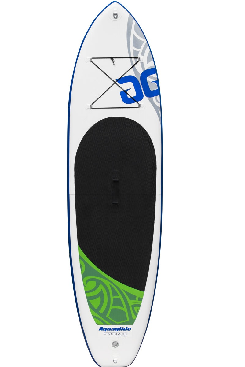 """Aquaglide 58-5416101 Cascade 11'0"""" 15cm Inflatable Stand Up Paddle Board by Aquaglide"""