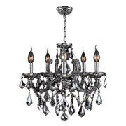 Worldwide Lighting Catherine 8-Light Crystal Chandelier