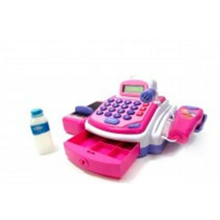 Az Import & Trading PS15C Electronic Cash Register Toy - Pink