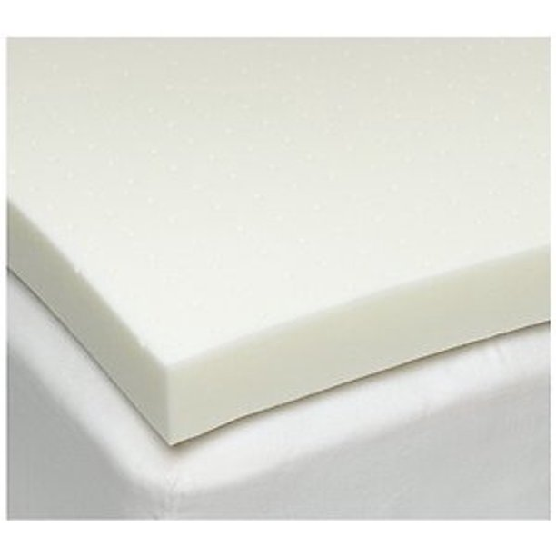 Twin Size 4 Inch iSoCore 3.0 Memory Foam Mattress Pad Bed Topper