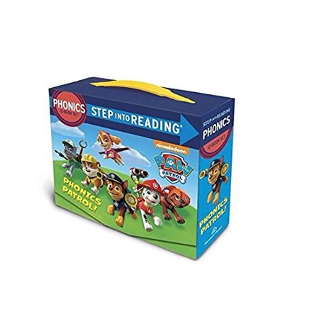 Paw Patrol 12 in a Box 12 Book Set Learn to Read Phonics Age 3 - 7 Years (Age Box)