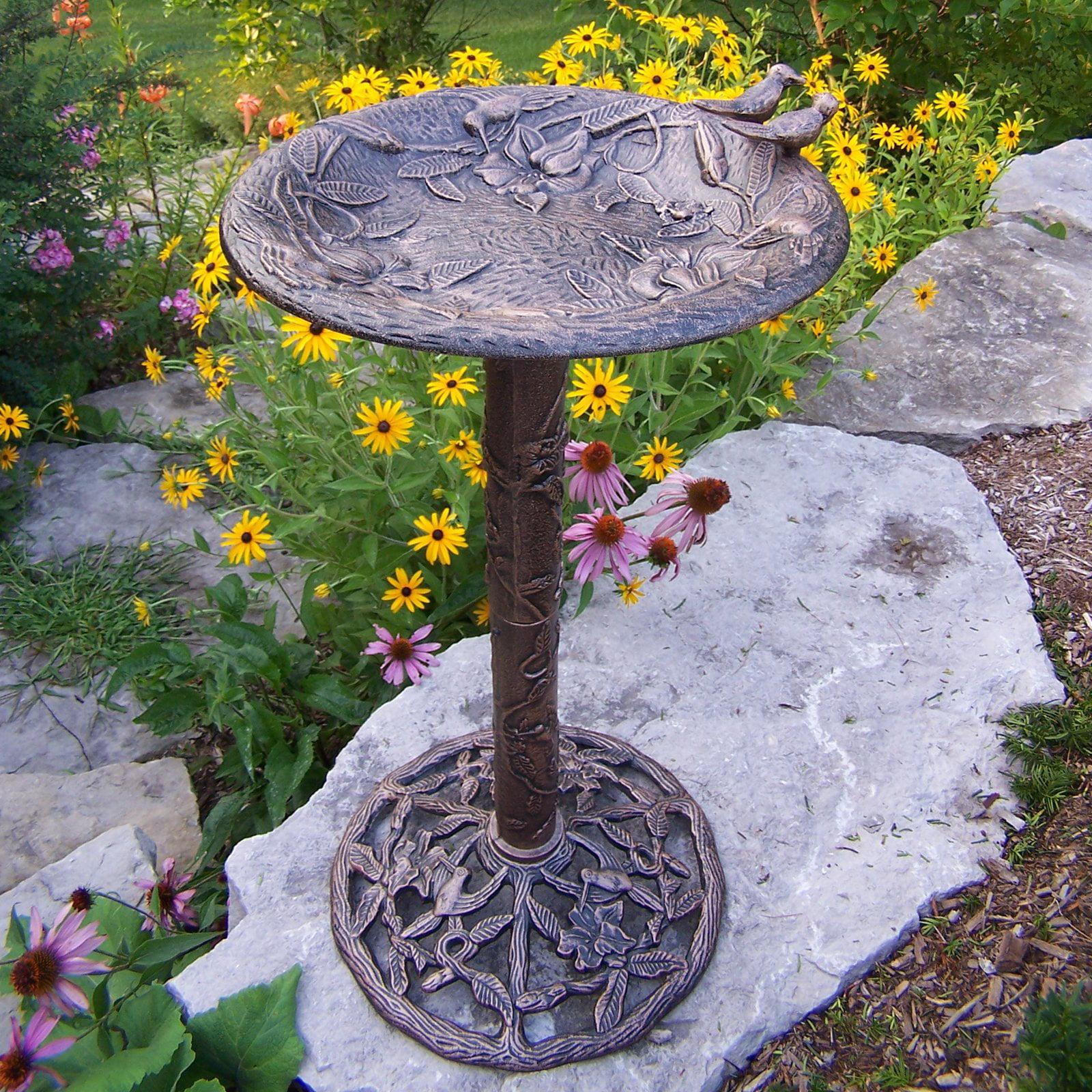Oakland Living Hummingbird Birdbath by Oakland Living