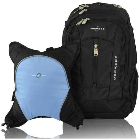 obersee bern diaper bag backpack and cooler black cloud. Black Bedroom Furniture Sets. Home Design Ideas