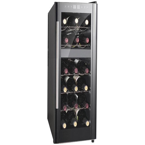 Sunpentown 18 Bottle Dual Zone Thermoelectric Wine Cooler With