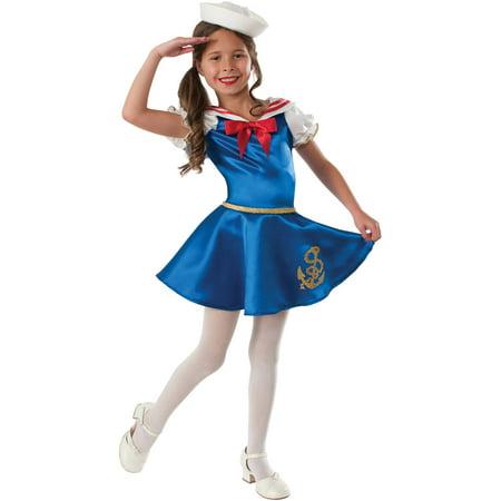 Sailor Girl Child Halloween Costume