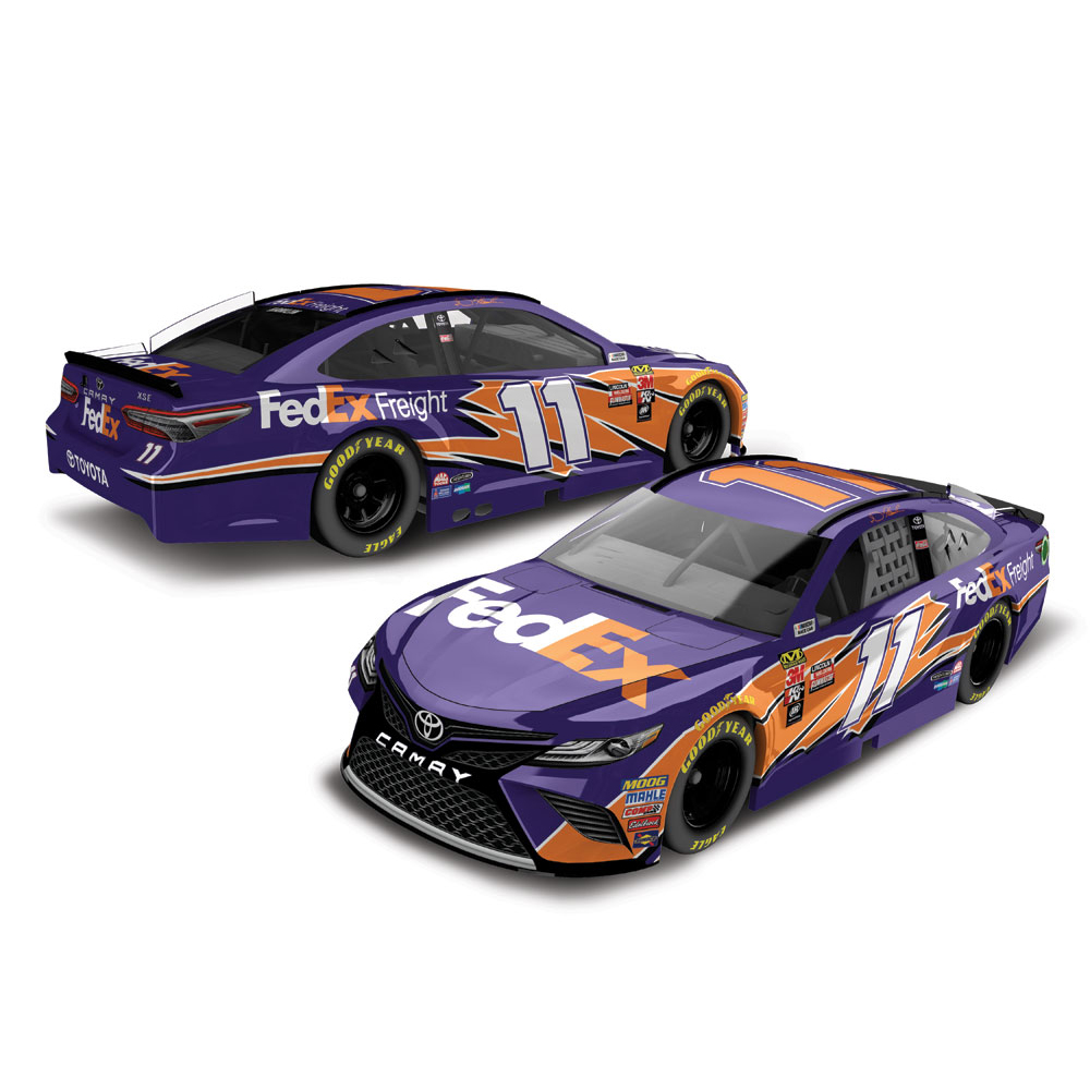 Denny Hamlin Action Racing 2018 #11 FedEx Freight 1:64 Monster Energy Nascar Cup Series... by Lionel LLC