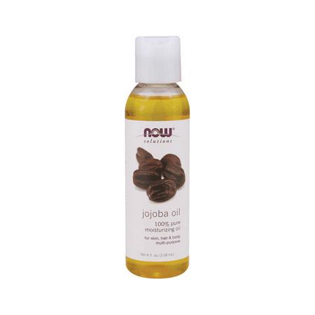 NOW Foods Jojoba Oil Pure 4 fl oz - Jojoba Oil Pure Now Foods