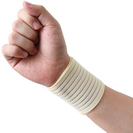 - Dark Blue Elastic Sports Wrist Brace Band Hand Palm Wrap Bandage Guard Supporter