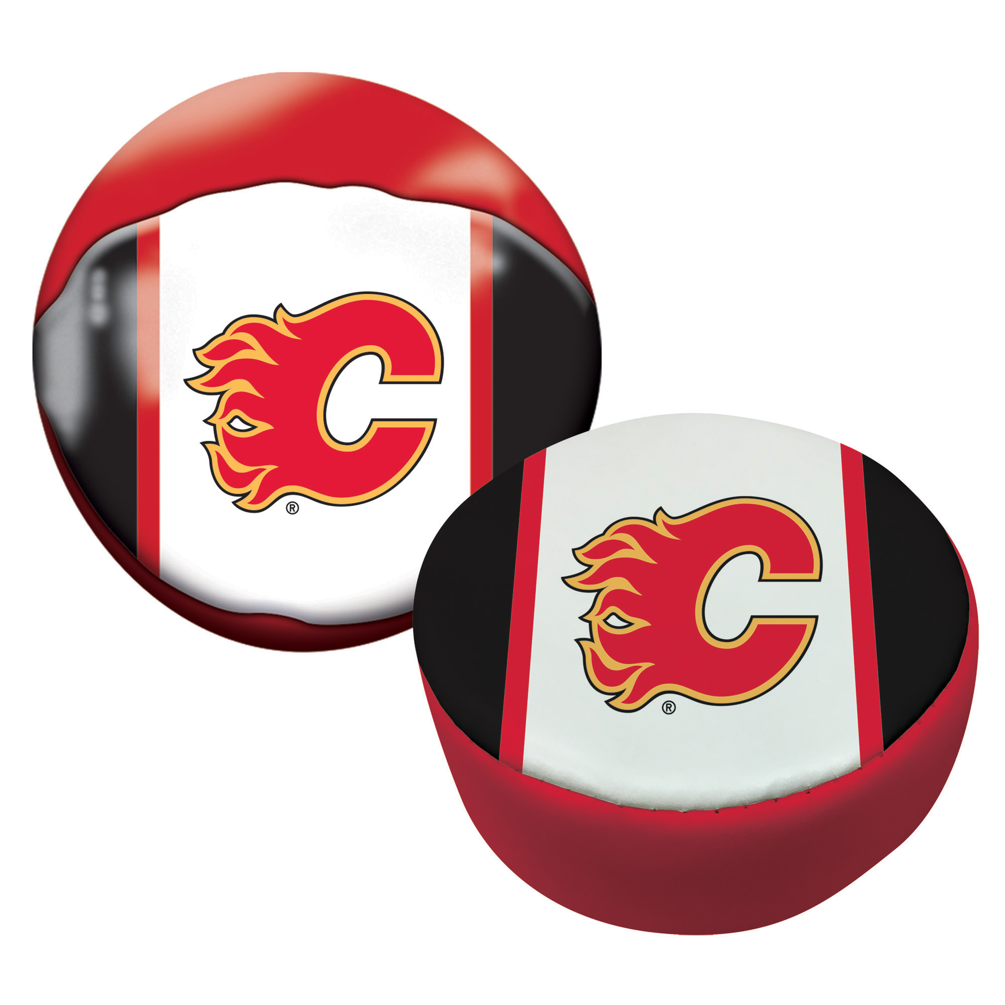 Franklin Sports NHL Calgary Flames Soft Sport Ball & Puck