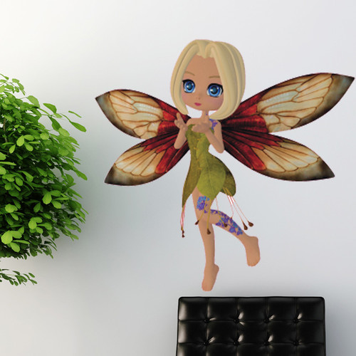Style and Apply Meadow Fairy Wall Decal