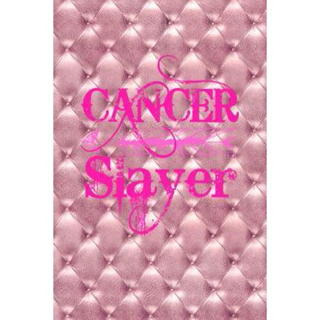 Cancer Slayer : Cancer Gifts For Women Breast Cancer Gifts To Write In For Best Mom to Beat Cancer Dusty Pink Tufted Texture & Hot Pink Ribbon Love Notebook 6