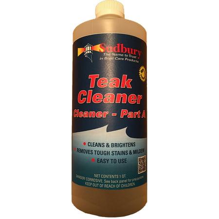 Nu Teak Cleaner - SUDBURY TEAK CLEANER PART A - QUART