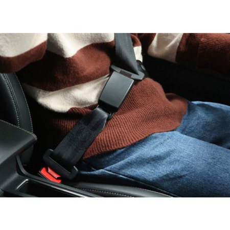 2 Pcs Safety Seat Extender, 7/8 Metal Tongue, Extender for Most Cars, Retractable Seat Belt Extension - image 3 of 5