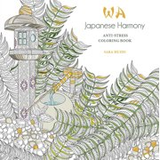 Japanese Harmony Coloring Book: Anti-Stress Coloring Book (Paperback)