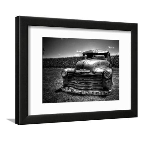 Truck Picture Photo - Chevy Truck Framed Print Wall Art By Stephen Arens
