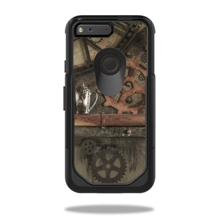 Skin Decal Wrap For Otterbox Commuter Google Pixel 5 Case Steam Punk Room