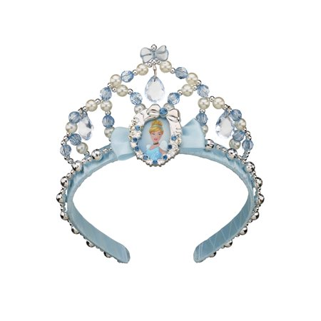 Halloween Songs Childrens (Cinderella Classic Childrens Tiara With Charm Halloween Costume)