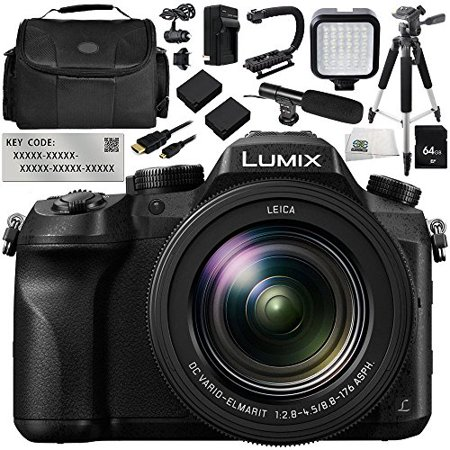 Panasonic Lumix DMC-FZ2500 Digital Camera with V-Log L Function Activation Code 12PC Bundle - Includes 64GB SD Memory Card + 2 Replacement Batteries + MORE](Halloween Day Vlog)