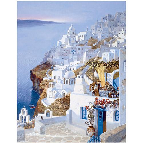 "Trademark Fine Art ""Greece"" Canvas Art by Hava"