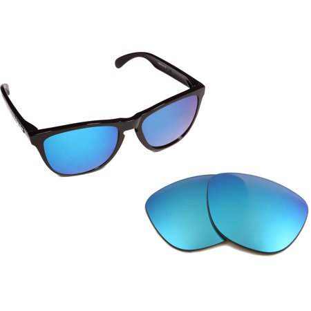 Replacement Lenses Compatible with OAKLEY Frogskins Polarized Ice Blue (Frogskins Sale)