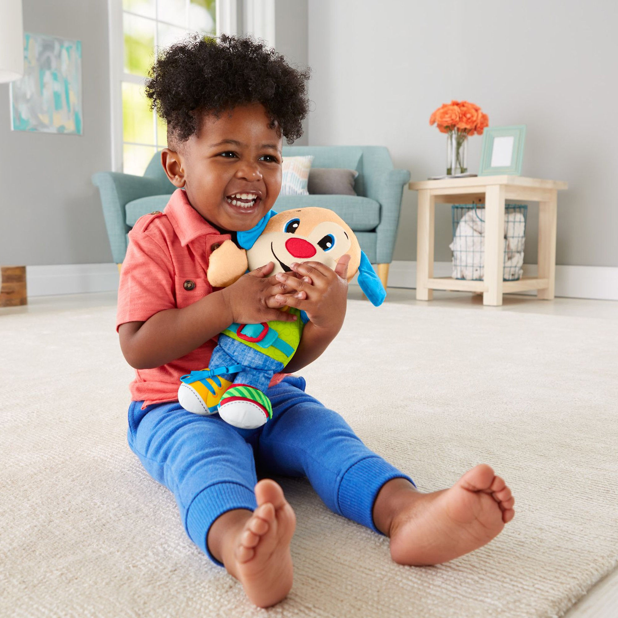 Fisher Price Laugh & Learn Learn To Dress Puppy by Fisher-Price