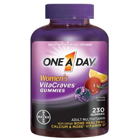 Un Vitacraves multivitamines gélifiés est une journée des femmes, 230 Ct