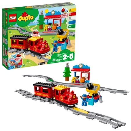 LEGO DUPLO Town Steam Train 10874 Building Set (59 Pieces)](Lego Halloween Ghost Train)