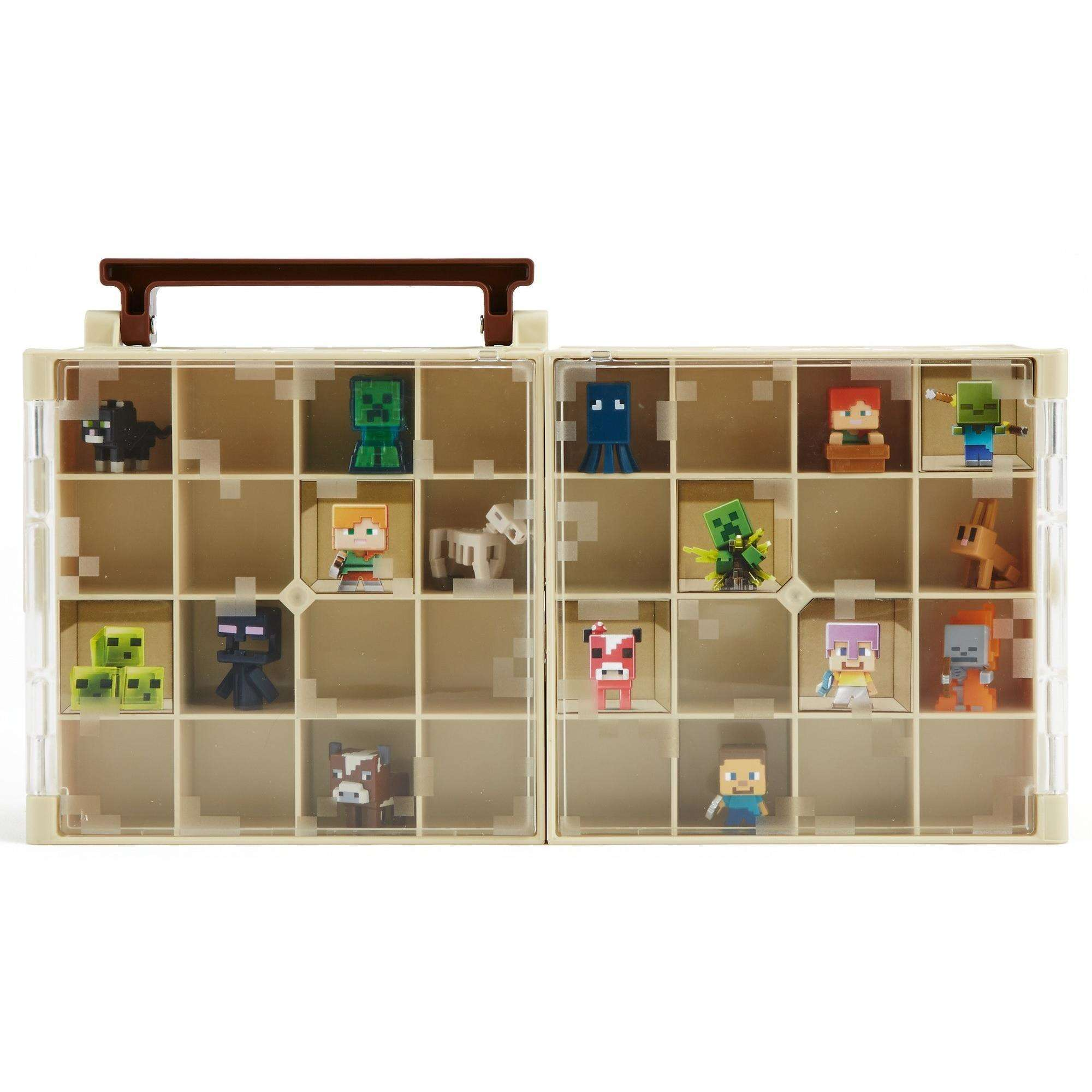 Minecraft Collector Case And Mini Figure by MATTEL BRANDS A DIVISION OF MATTEL DIRECT IMPORT INC