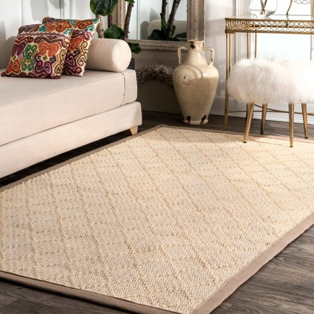 - Nuloom Sisal 6' X 9' Rectangle Area Rugs In Natural Finish 200ZHSS04A-609