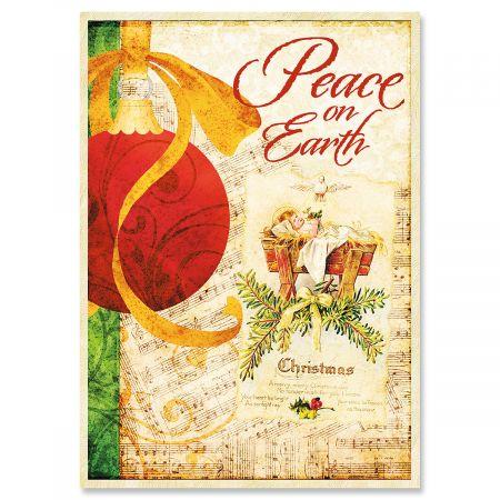 Joy of the Season Christmas Greeting Cards- Set of 18 Holiday Greeting Cards