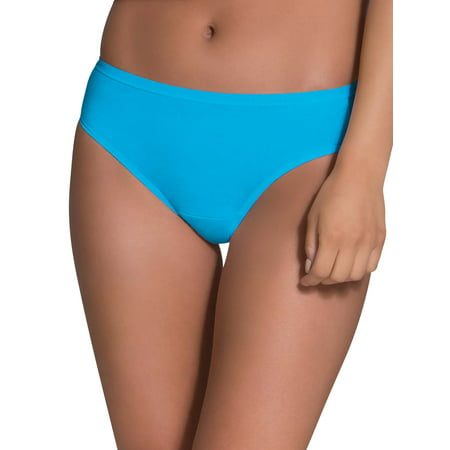 - Women's Assorted Cotton Bikini Panties, 6 Pack