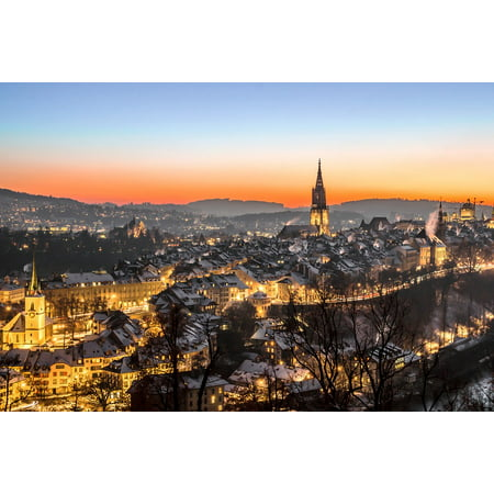 Laminated Poster Switzerland Building Downtown Bern Rose Garden Poster Print 11 x 17](Downtown At The Gardens)