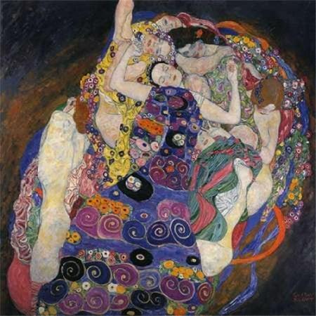 The Virgins Poster Print by Gustav Klimt, 24 x 24 - Large - image 1 de 1