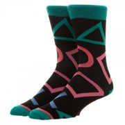 Crew Socks - Sony Playstation - Large All over Print New Licensed cr5dh1spn