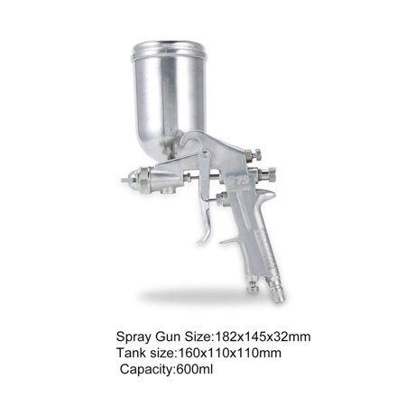 F75 Air Painter Spray Gun Pneumatic 1.5mm Nozzle 400ML Airbrush Sprayer Painting Atomizer Tool With Hopper For Painting Cars - image 4 of 8