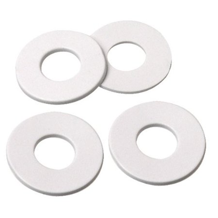 3/4 Inch O.D. Rubber Washer is 3/4 Inch O.D. with 7/16 Inch Center Hole (Pkg/300)