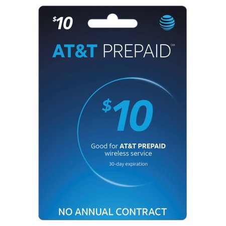 AT&T PREPAID℠ $10 (Email Delivery) (Best Prepaid Card For International Travel)