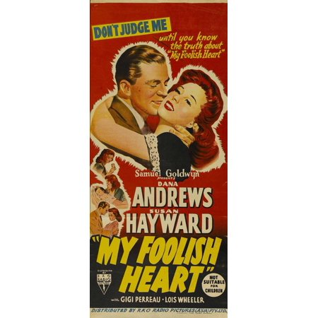 My Foolish Heart - movie POSTER (Insert Style A) (14
