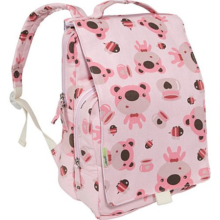 EcoGear Dually Bear Print 12-inch Kids Backpack