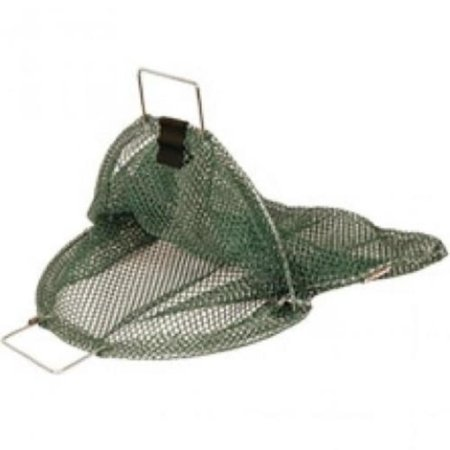 Mesh Goodie Bag with D-Ring for Lobster- X-Large for Scuba or Water Sports, X-Large Green Mesh Lobster Bag. By Trident Diving Equipment Water Sport Equipment