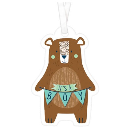 Baby Shower 'We Can Bear-ly Wait' Favor Tags (25ct) - Bridal Shower Favor Tags